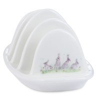 Mosney Mill Edgar Green Rabbit Toast Rack