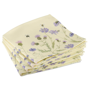 Mosney Mill Mosney Mill Bee and Flower Napkins