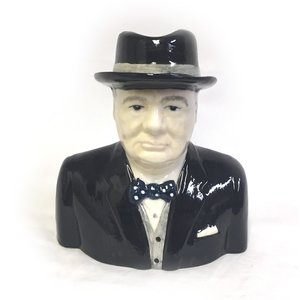 Babbacombe Pottery Sir Winston Churchill Jug
