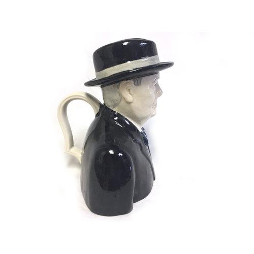Babbacombe Pottery Sir Winston Churchill Jug