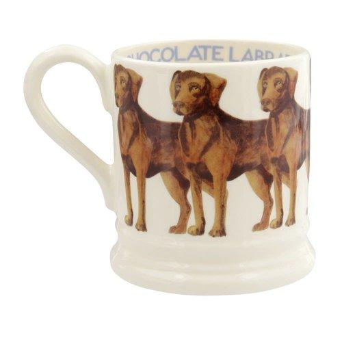 Emma Bridgewater Emma Bridgewater Chocolate Labrador 1/2 Pint mug