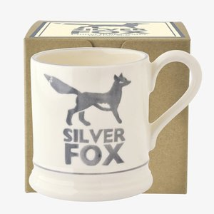 Emma Bridgewater Silver Fox 1/2 Pint Mug  Boxed