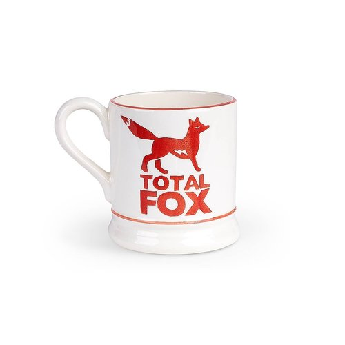 Emma Bridgewater Total Fox 1/2 Pint Mug   Boxed