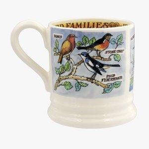 Emma Bridgewater Bird Families Insect Eaters 1/2 Pint Mug