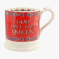 Emma Bridgewater God Save the Queen 1/2 mug