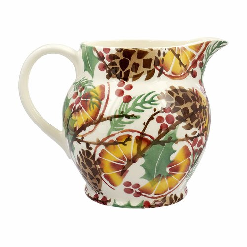 Emma Bridgewater Emma Bridgewater Holly Wreath 1 1/2 Pint Jug