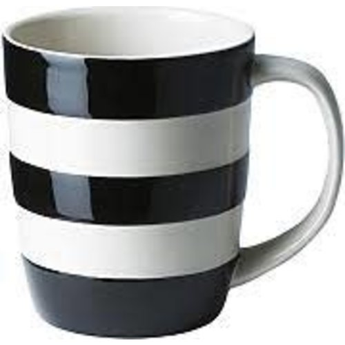 Cornishware Cornishware 12oz Mug Black