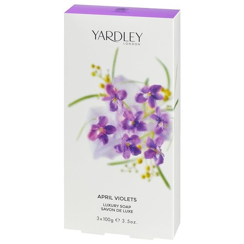 Yardley Yardley April Violets Luxury Soap (box of 3)