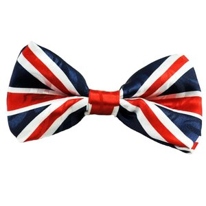 The Tie Studio Union Jack Bow Tie