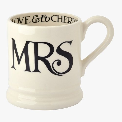Emma Bridgewater Black Toast Mrs. Mug