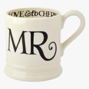 Emma Bridgewater Emma Bridgewater Black Toast Mr. Mug