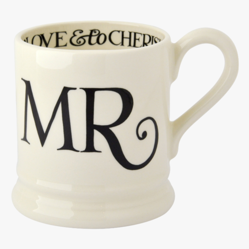 Emma Bridgewater Emma Bridgewater Black Toast Mr. Mug
