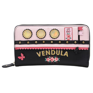 Vendula Love Boat Zip Around Wallet Pink