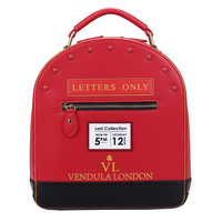 Post Box Backpack, Crossbody and Grab Bag