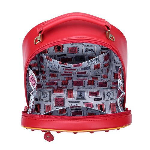 Vendula Post Box 3-way Backpack, Crossbody and Grab Bag