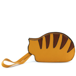 Resting Tabby Cat Coin Purse