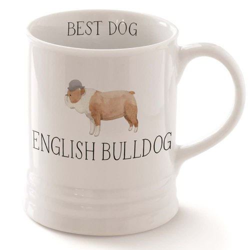 Fringe English Bulldog Mug