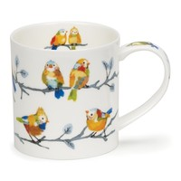 Dunoon Orkney Feathered Friends Leaves Mug