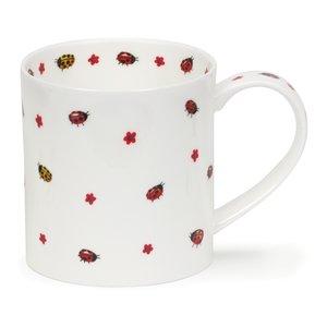 Dunoon Orkney Flutterby Ladybirds Mug