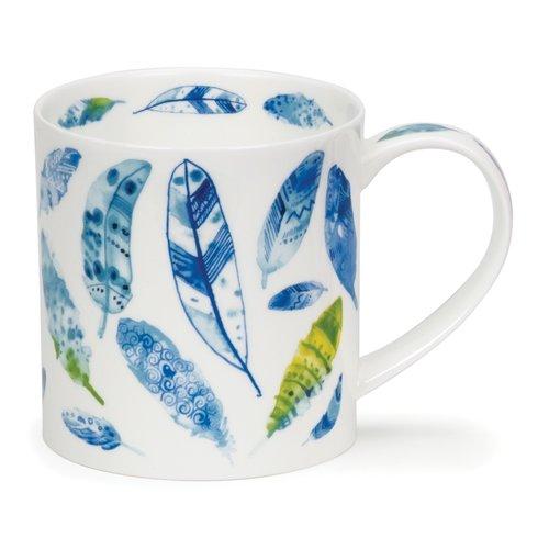 Dunoon Orkney Pluma Blue Mug