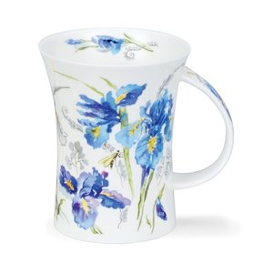 Dunoon Dunoon Richmond Blue Irises Mug