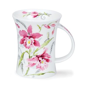Dunoon Richmond Pink Orchids Mug