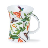 Dunoon Richmond Hummingbirds Orange Mug