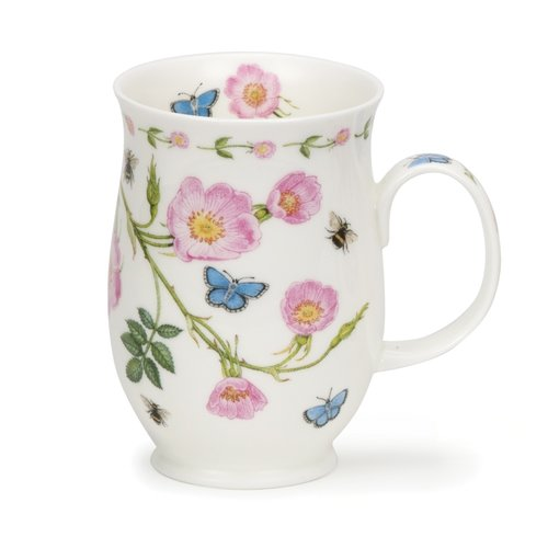 Dunoon Suffolk Floral Lane Dog Rose Mug