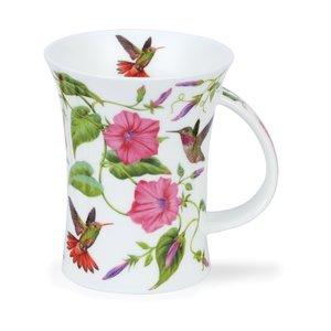 Dunoon Dunoon Richmond Hummingbirds Pink Mug