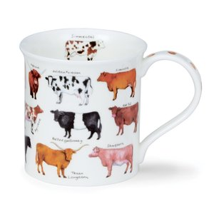 Dunoon Bute Animal Breeds Cow Mug