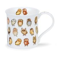 Dunoon Bute Little Chicks Owls Mug