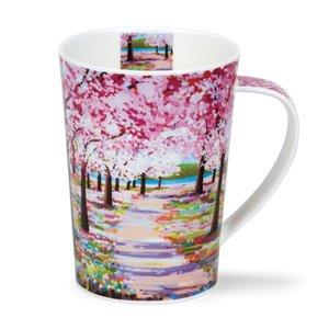 Dunoon Dunoon Argyll Woodland Path Pink Mug