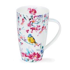Dunoon Dunoon Henley Birdsong Yellow Mug