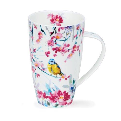 Dunoon Henley Birdsong Yellow Mug