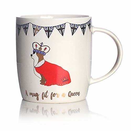Milly Green Milly Green Royal Mug New Bone China 14oz