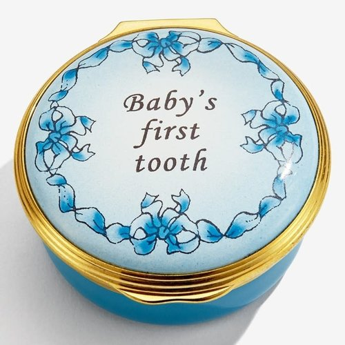 Halcyon Days Halcyon Days Baby's First Tooth, Blue