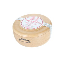 D R Harris Marlborough Shaving Soap in a Beech Bowl 100g