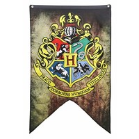 Harry Potter Hogwarts Crest Banner