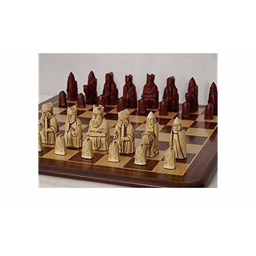 Isle of Lewis Solid Resin Chess Set