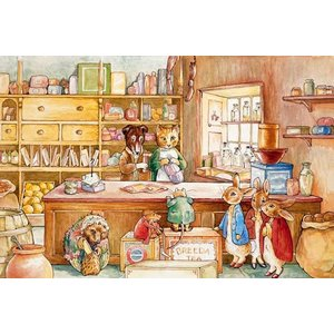 Beatrix Potter Peter Rabbit Ginger & Pickles Beatrix Potter Puzzle