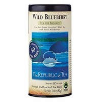 Wild Blueberry Fair Trade Tea