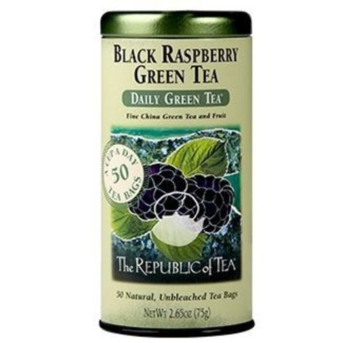 Republic of Tea Black Raspberry Green Tea