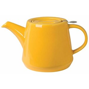London Pottery London Pottery Hi-T Filter Teapot 2 Cup Yellow Honey
