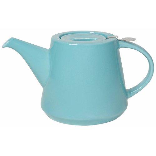 London Pottery London Pottery Hi-T Filter Teapot 2 Cup Splash Blue Aqua