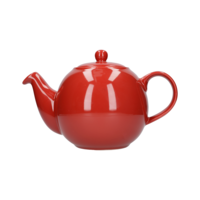 London Pottery Globe 2 Cup Teapot Red