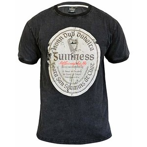 Guinness Guinness Distressed Gaelic Label Tee - M