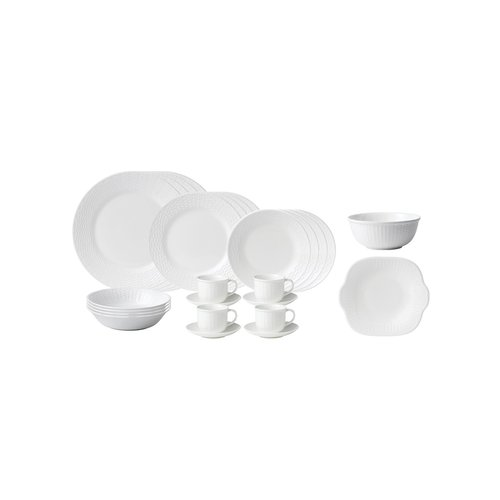 Wedgwood Wedgwood Nantucket 26 Piece Set White China