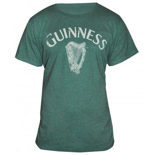 Guinness Guinness Green Vintage Heathered Harp Tee - XXL