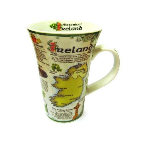 Tall Historical Ireland Mug