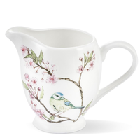 Mosney Mill Blue Tit on Blossom China Creamer Jug